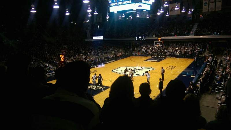 Hinkle Fieldhouse, section: 211, row: 4, seat: 2