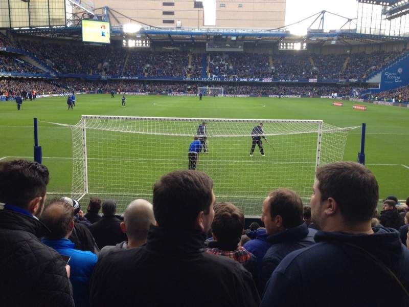 Seating view for Stamford Bridge Section L12 Row P Seat 80
