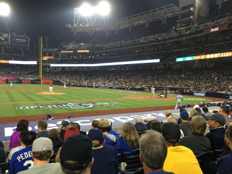 PETCO Park, section: 108, row: 14, seat: 24