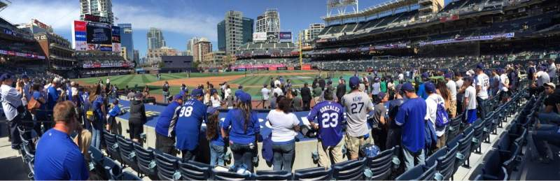 PETCO Park, section: 108, row: 11, seat: 17
