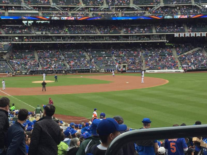 Seating view for Citi Field Section 105 Row 26 Seat 6