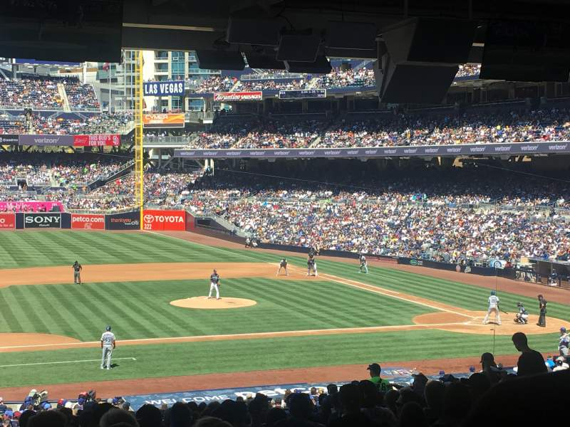 PETCO Park, section: 110, row: 43, seat: 15