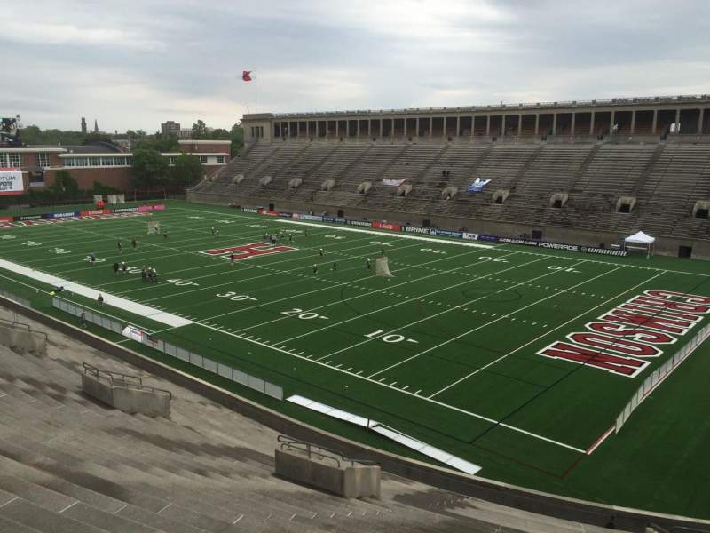 Seating view for Harvard Stadium Section 25 Row NN Seat 8