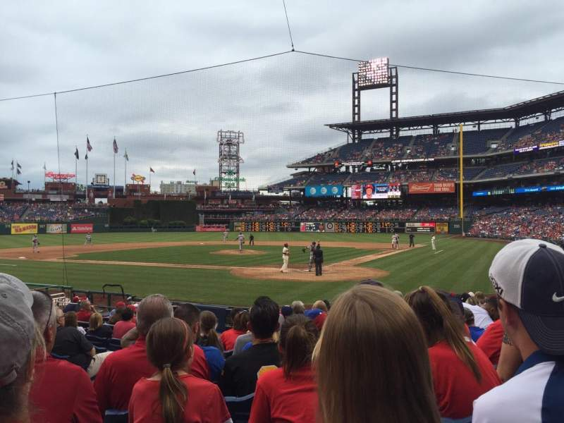 Citizens Bank Park, section: C, row: 15, seat: 14