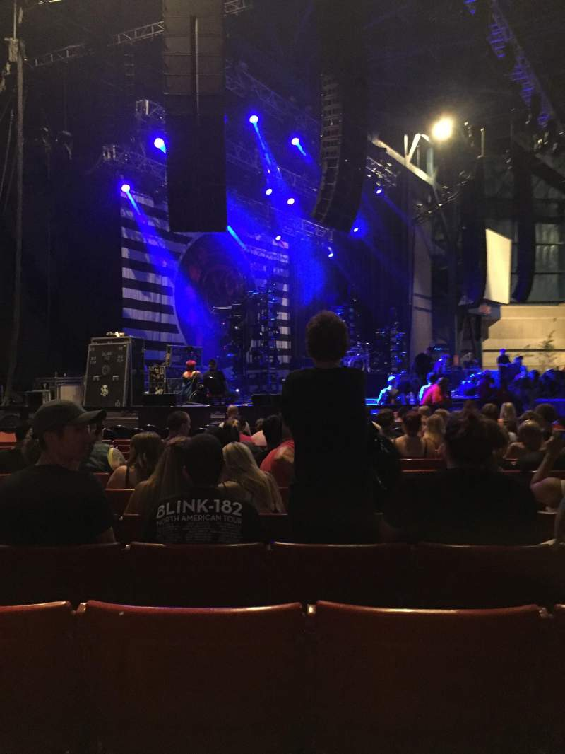Seating view for American Family Insurance Amphitheater Section 3 Row R Seat 24