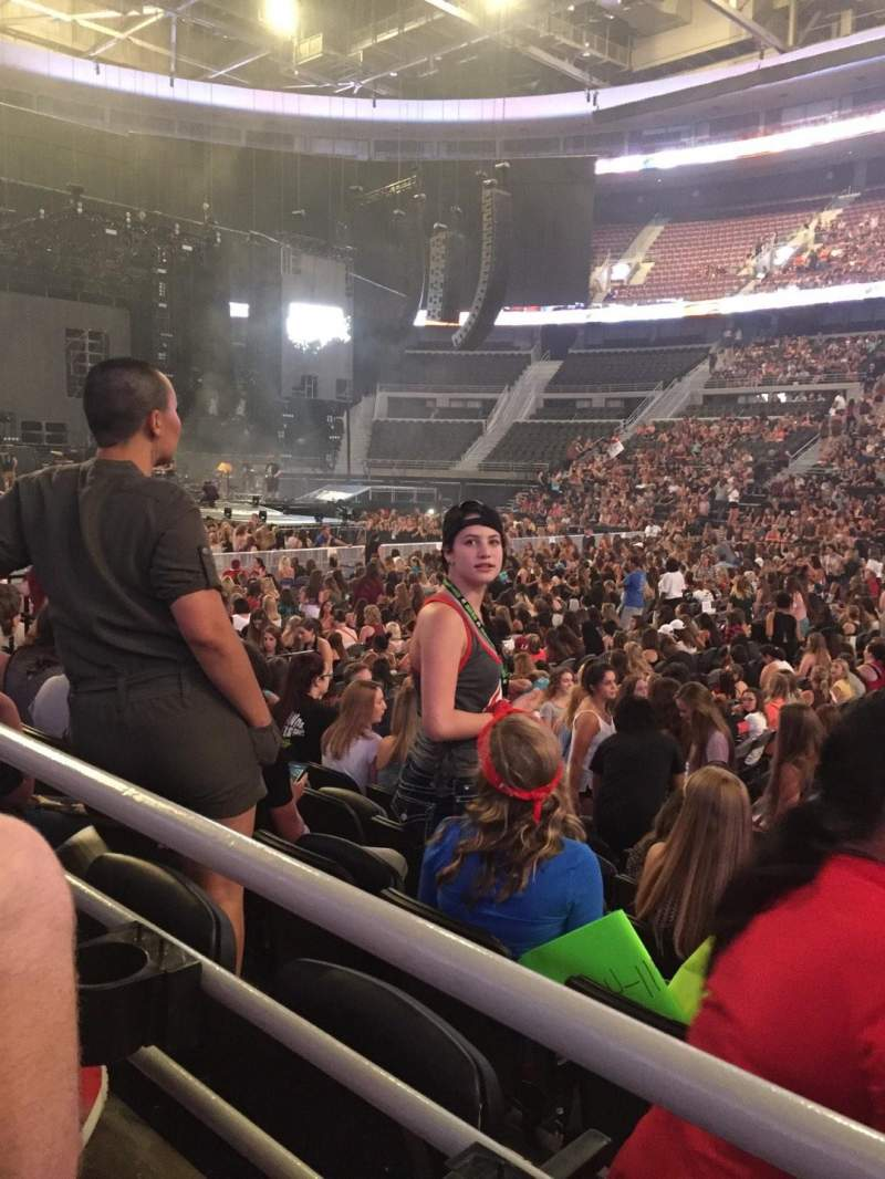 The Palace of Auburn Hills, section: 126, row: A, seat: 7
