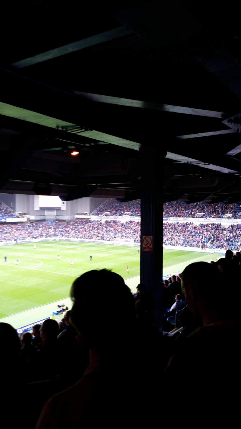 Seating view for Ibrox Park Section MRT Row D Seat 280