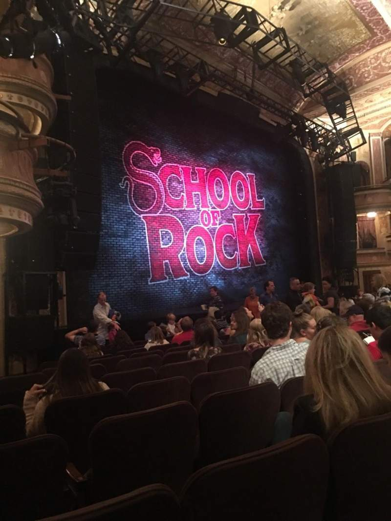 Winter garden theatre section orchestra row l seat 31 - Winter garden theater seating chart ...