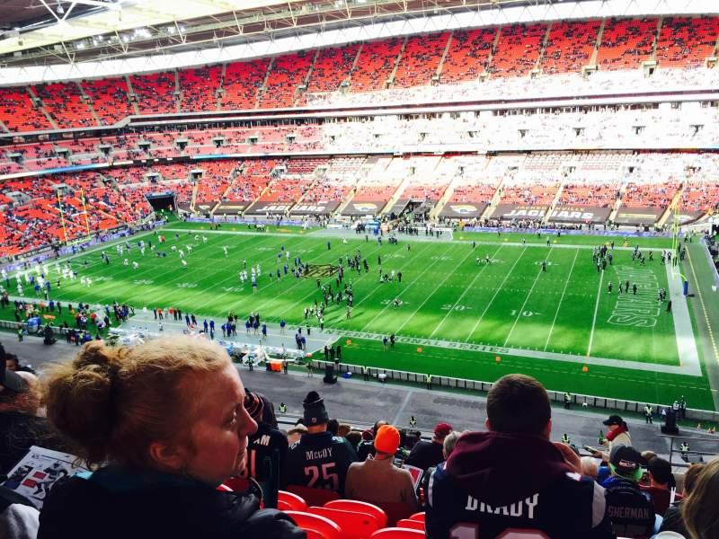 Wembley Stadium, section: 524, row: 12
