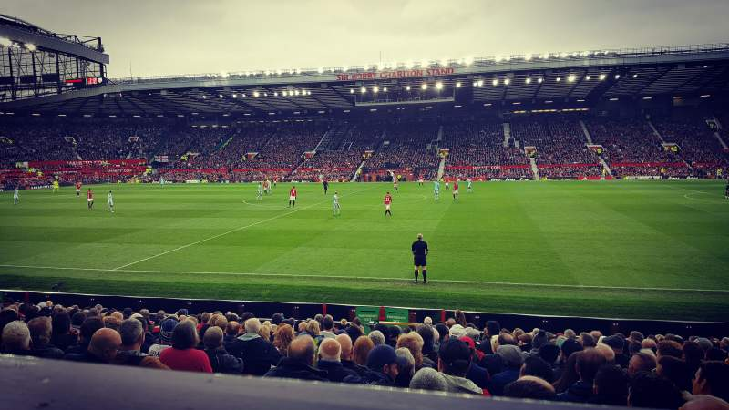 Seating view for Old Trafford Section Sir Alex Ferguson Stand