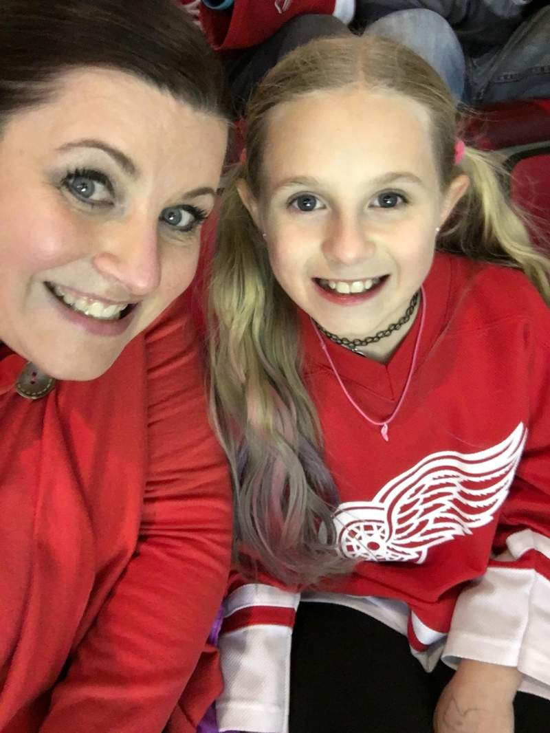 Seating view for Joe Louis Arena Section 202 Row 18 Seat 2-3