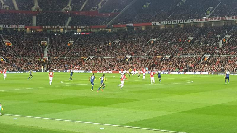 Seating view for Old Trafford Section Sth127 Row 4 Seat 53