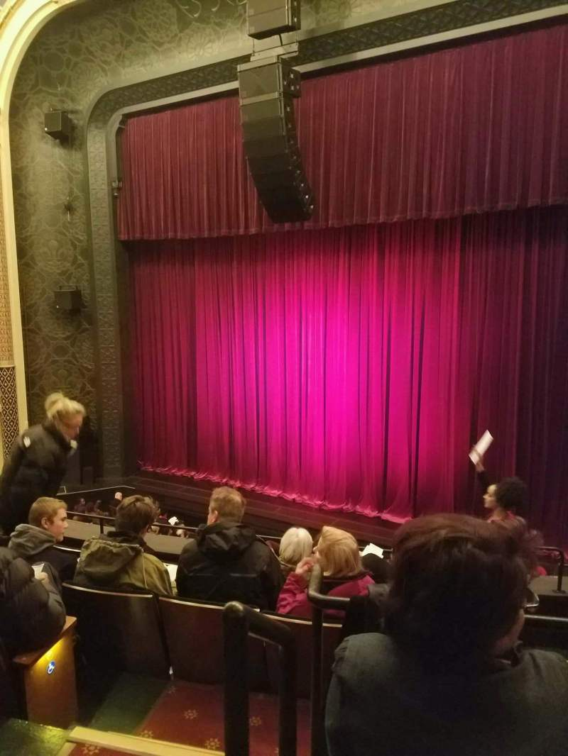 Seating view for New York City Center Section mezzRt Row A Seat 2