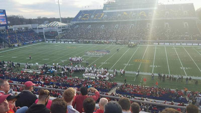 Navy-Marine Corps Memorial Stadium, section: 126, row: 4, seat: 2
