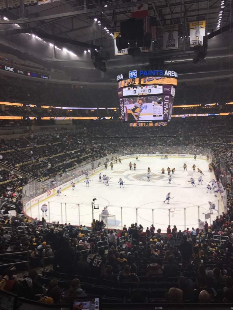 Seating view for PPG Paints Arena Section Loge Box 11