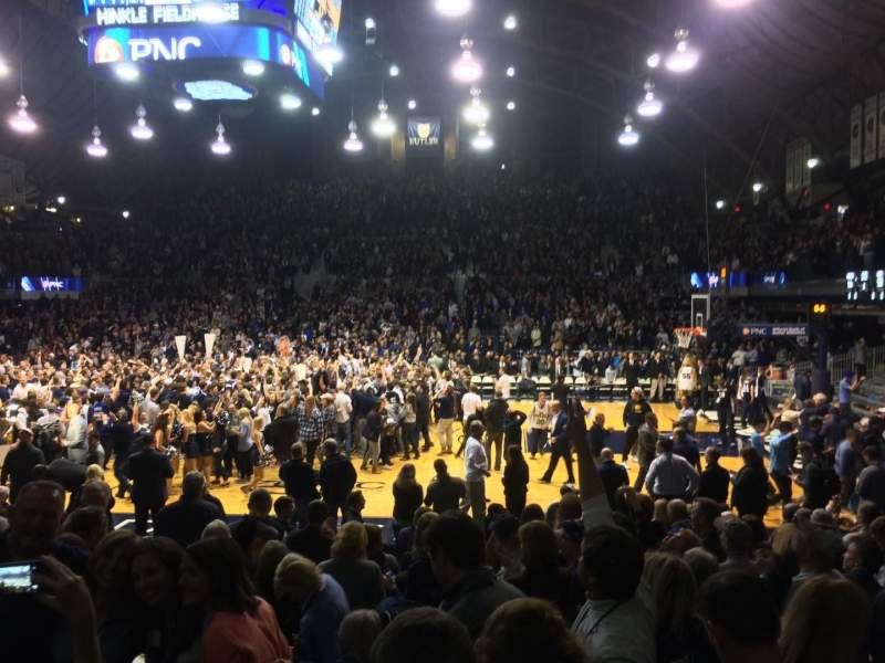 Hinkle Fieldhouse, section: 121, row: 11, seat: 10