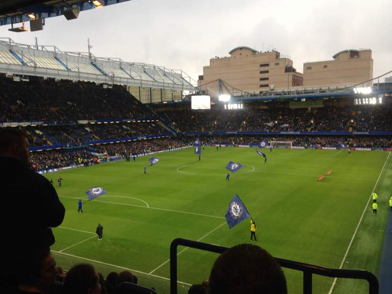 Seating view for Stamford Bridge Section Matthew Harding upper Row H Seat 223