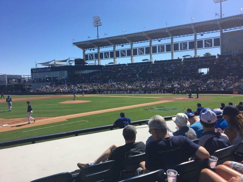 George M Steinbrenner Field Section 117 Row Gg Seat 9