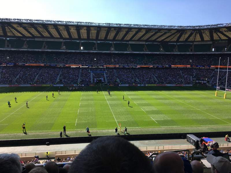 Twickenham Stadium, section: M33, row: 57, seat: 263