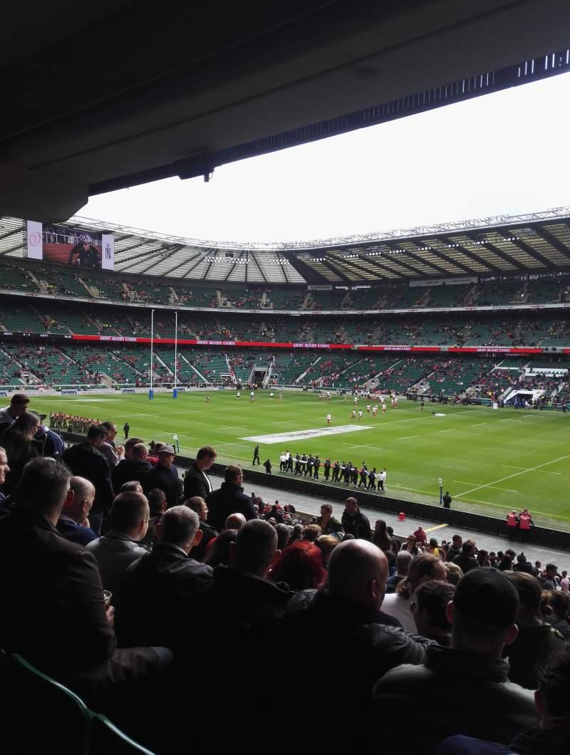 Twickenham Stadium, section: L21, row: 38, seat: 105