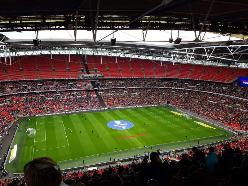 Seating view for Wembley Stadium Section 503 Row 35
