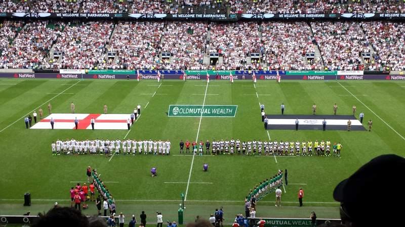 Twickenham Stadium, section: M7, row: 70, seat: 169