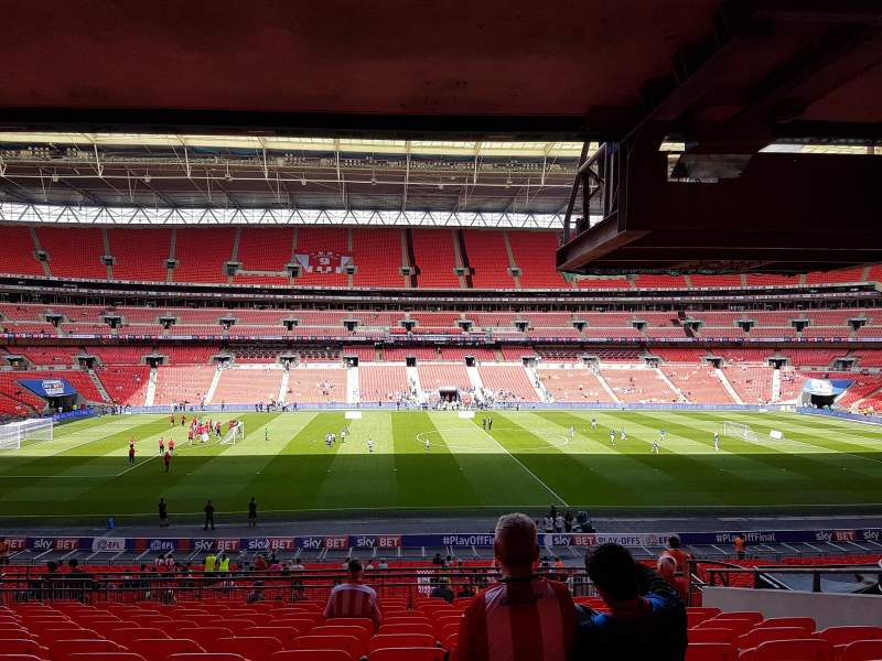 Wembley Stadium, section: 123, row: 43, seat: 27