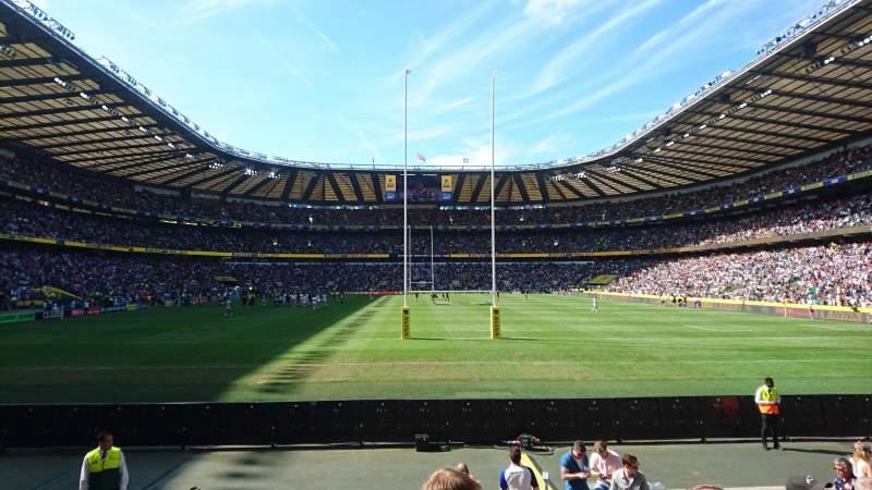 Twickenham Stadium, section: L34, row: 11, seat: 169