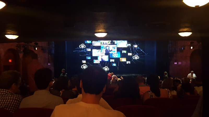Seating view for August Wilson Theatre Section Orchc Row Z Seat 113