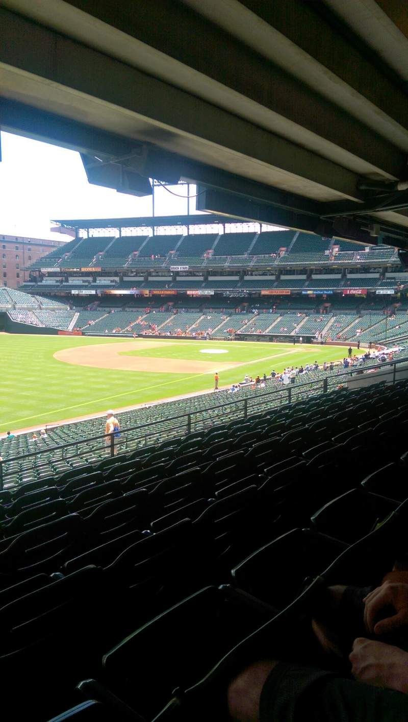 Oriole Park At Camden Yards Section 67 Row 7 Seat 24