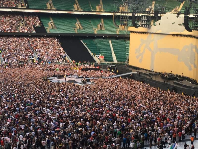 Twickenham Stadium, section: M7, row: 66, seat: 189