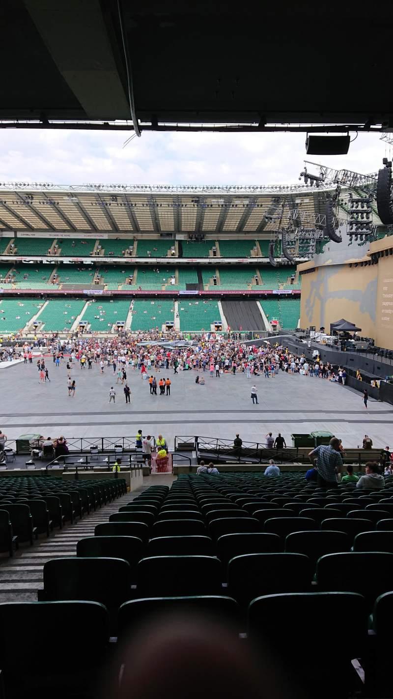Twickenham Stadium, section: L4, row: 37, seat: 190