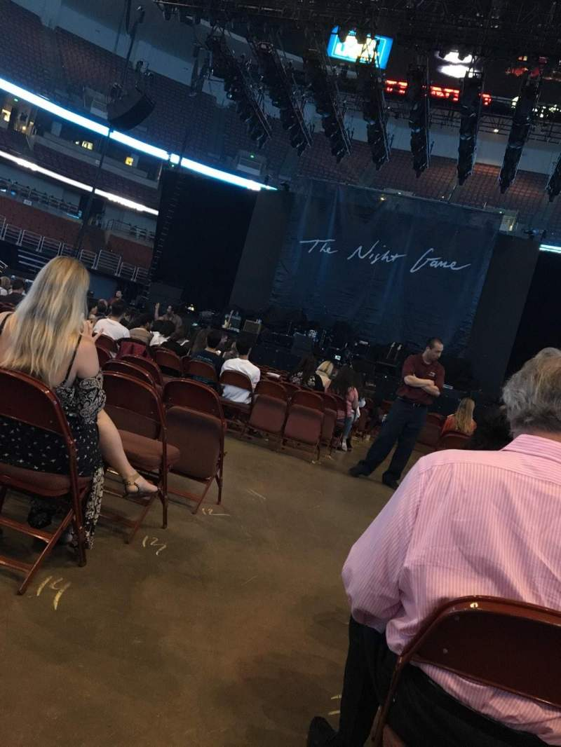 Seating view for Honda Center Section 101 Row 17 Seat 14