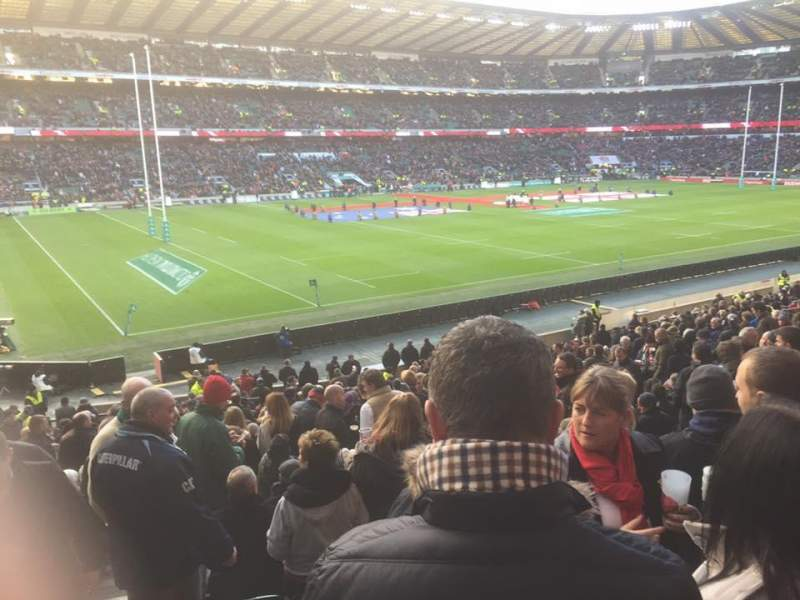 Twickenham Stadium, section: L29, row: 30, seat: 349
