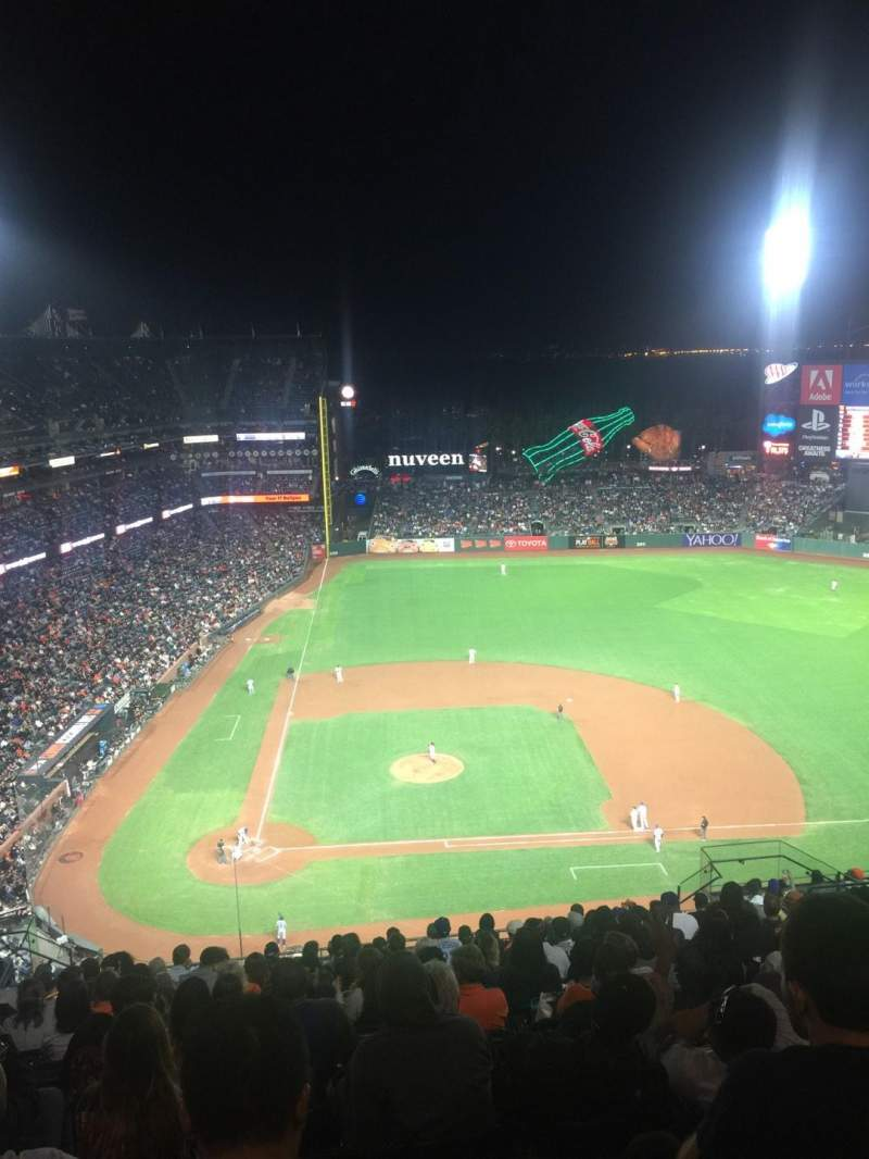 AT&T Park, section: 310, row: 15, seat: 12