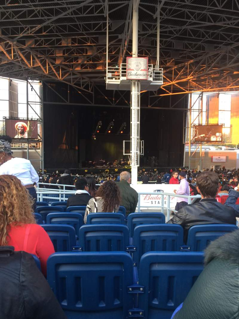 Budweiser Stage Section 407 Row G Seat 3 Chronixx