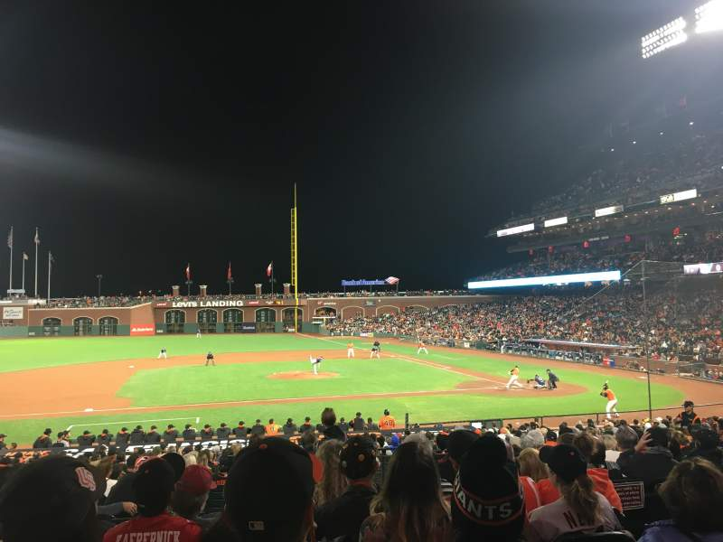 AT&T Park, section: 123, row: 28, seat: 5