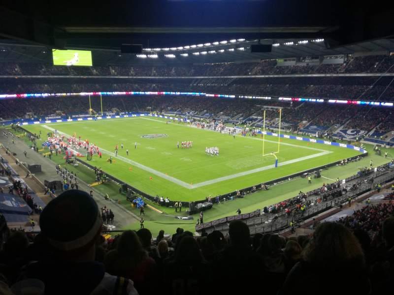 Twickenham Stadium, section: M25, row: 72, seat: 8