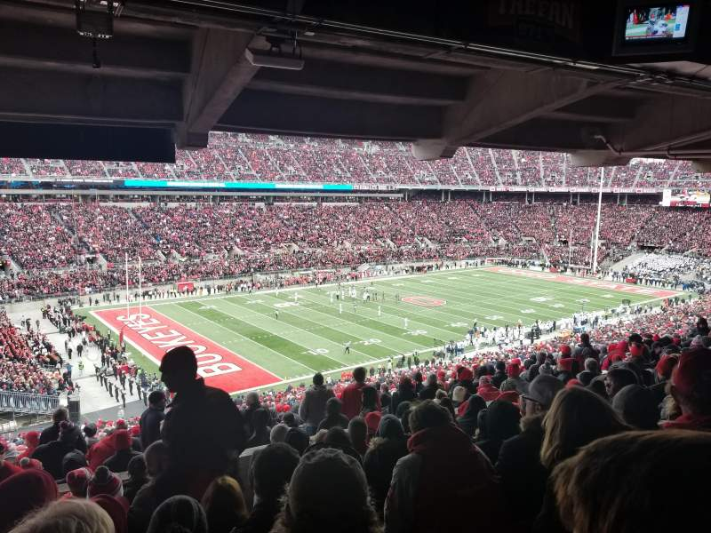 Seating View For Ohio Stadium Section 28B Row 10 Seat 19