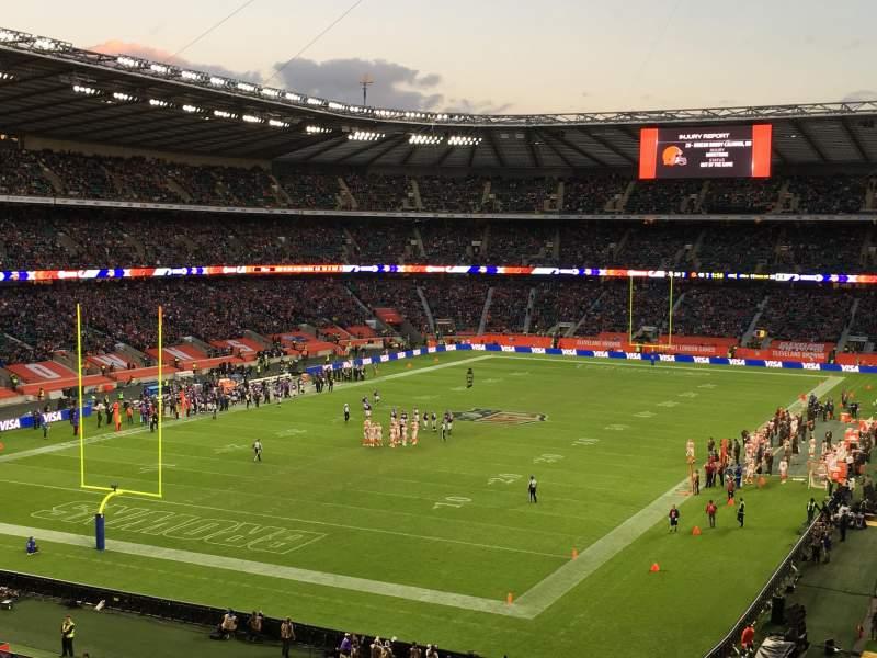 Twickenham Stadium, section: M16, row: 64, seat: 30