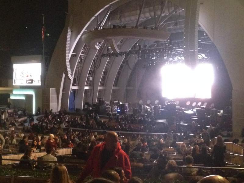 Hollywood Bowl, section: D, row: 6, seat: 26