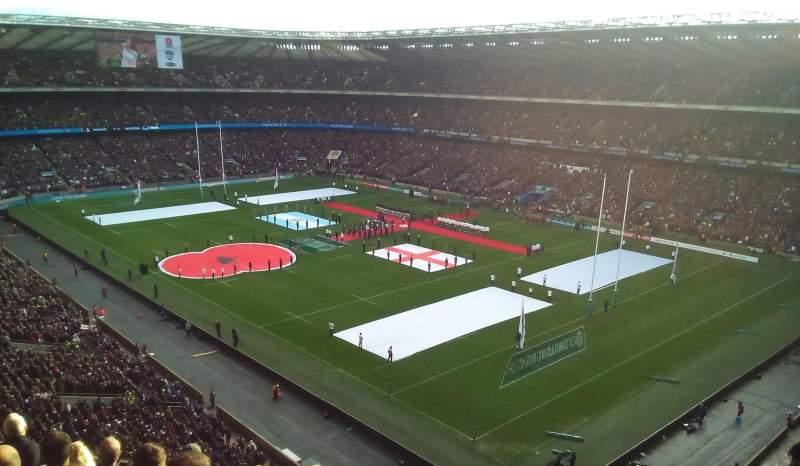 Twickenham Stadium, section: EAST UPPER, row: H, seat: 44