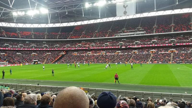 Wembley Stadium, section: 142, row: 17, seat: 256
