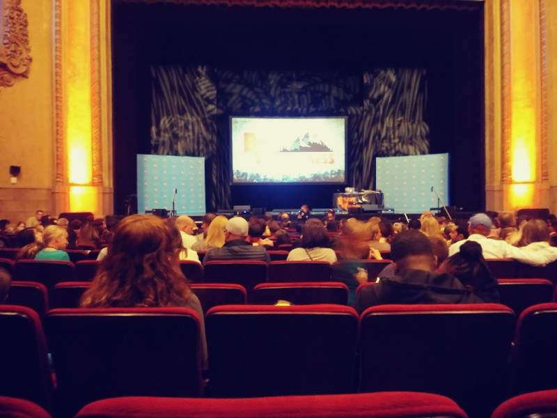 Seating view for Balboa Theatre Section Orch Row M Seat 115
