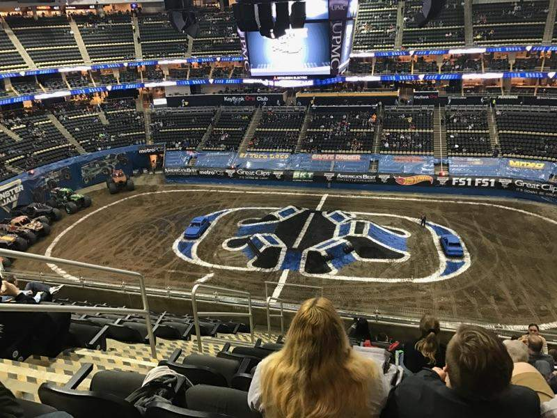 Seating view for PPG Paints Arena Section 218 Row K Seat 18