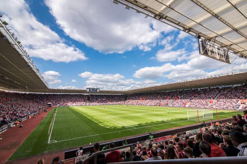 Seating view for St Mary's Stadium Section 21
