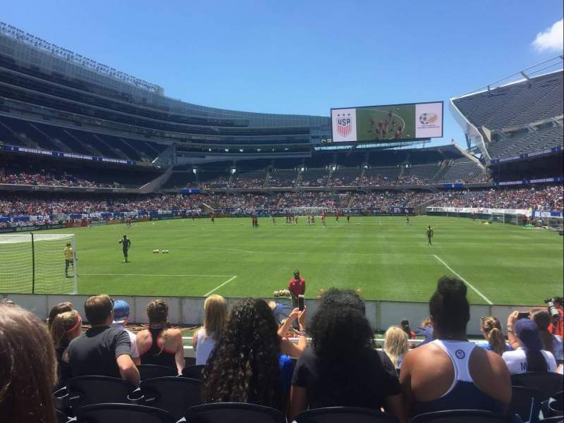 Soldier Field, section: 150, row: 7, seat: 11