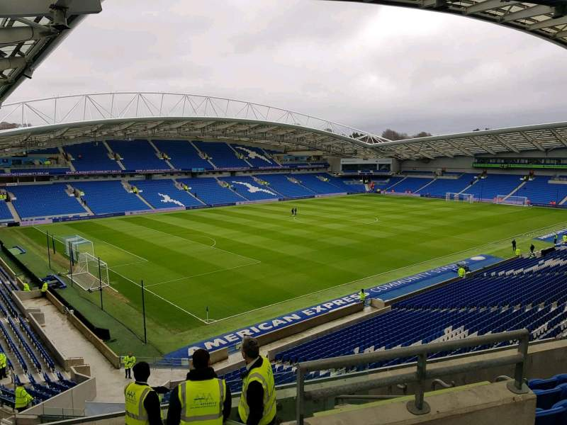 American Express Community Stadium, section: N2A, row: G, seat: 243