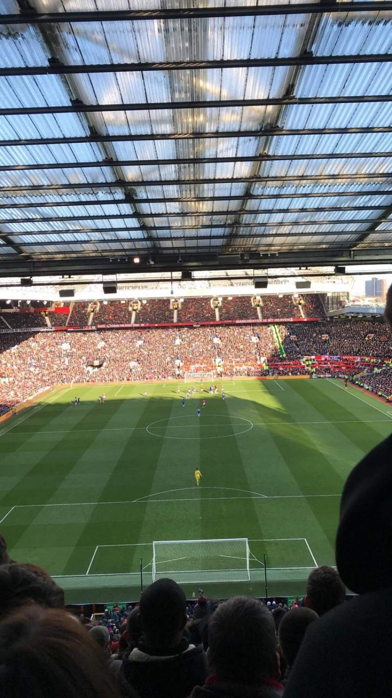 Old Trafford, section: W3104, row: 14, seat: 90
