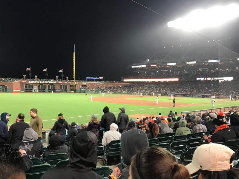AT&T Park, section: LB129, row: 16, seat: 3